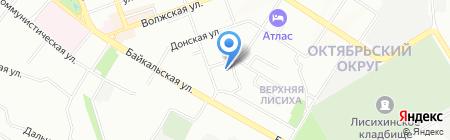 Детский сад №116 на карте Иркутска