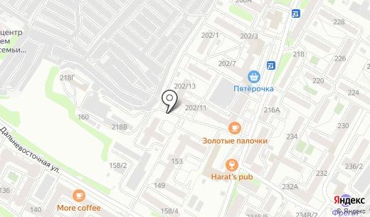 Стрекоzа. Схема проезда в Иркутске