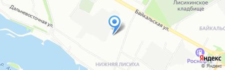 Челка на карте Иркутска