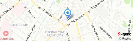Компания по вакуумной очистке выгребных ям на карте Иркутска