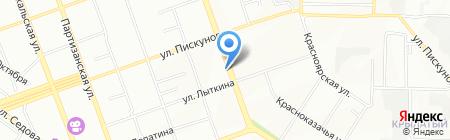 Солнышко на карте Иркутска