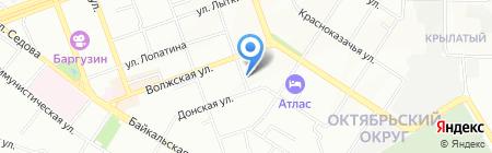Общественная приемная депутата Иркутской городской Думы Свердлова В.Л. на карте Иркутска