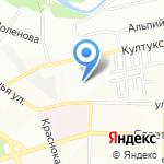 Отдельный батальон охраны и конвоирования подозреваемых и обвиняемых на карте Иркутска