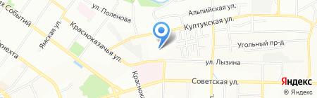 Сибирский-Федеральный округ ВНИИ МВД России на карте Иркутска