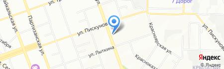 Управление вневедомственной охраны ГУ МВД России по Иркутской области на карте Иркутска