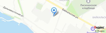 Сайдинг и кровля на карте Иркутска