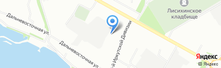 Линолеум для всех на карте Иркутска
