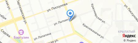 АвтоХит на карте Иркутска