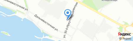 SlimCenter на карте Иркутска
