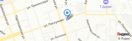 Улан-Удэ Сервис на карте Иркутска