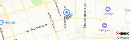Технический текстиль на карте Иркутска
