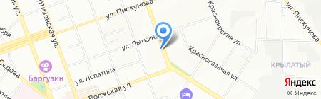 F`lora на карте Иркутска