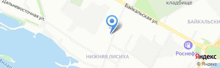 Студия кератинового выпрямления и ламинирования ресниц Екатерины Антоновой на карте Иркутска