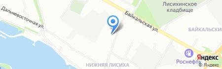 Основной на карте Иркутска