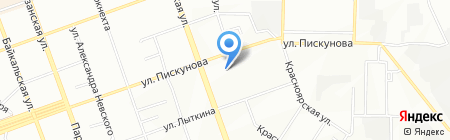 ATLETIC BODY FITNESS на карте Иркутска