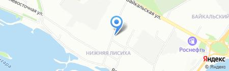 ВостСибРиэлт на карте Иркутска
