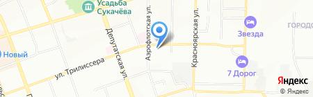 Иркутский Капитал на карте Иркутска