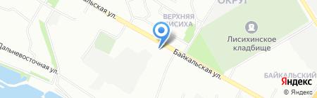 StreetHouse на карте Иркутска