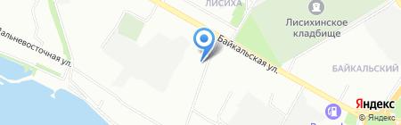 ВостСибСтрой на карте Иркутска