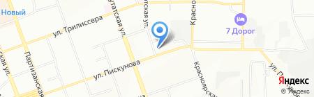 Стимул на карте Иркутска