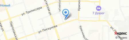 БайкалВудПром на карте Иркутска