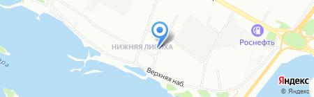 ВОСТОКТРАНСПРОЕКТ на карте Иркутска