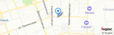 Stock-Hand Market на карте Иркутска
