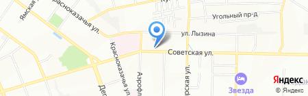 Банкомат АК Байкалбанк на карте Иркутска