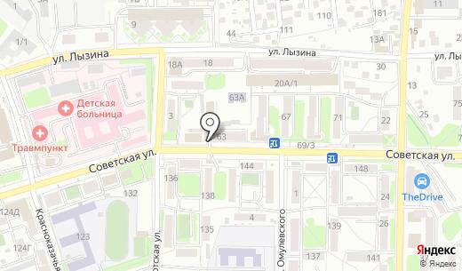 Паутина. Схема проезда в Иркутске