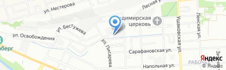Сварщик на карте Иркутска
