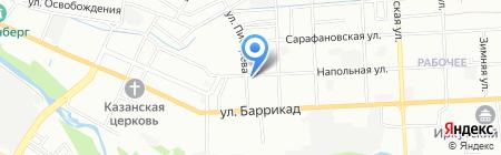 Tuning-avto38 на карте Иркутска