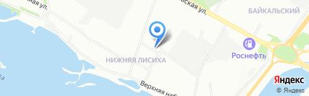 Системный администратор на карте Иркутска