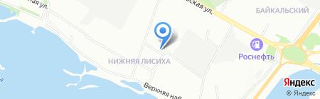 Тигран на карте Иркутска