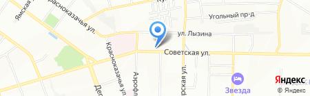 Тескома на карте Иркутска