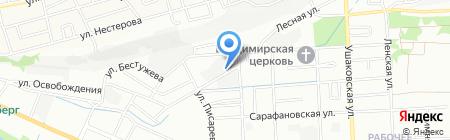 ТОН-М на карте Иркутска