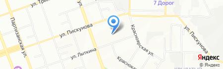 Институт развития образования Иркутской области на карте Иркутска