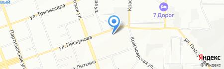 Иркутскгорэлектротранс на карте Иркутска
