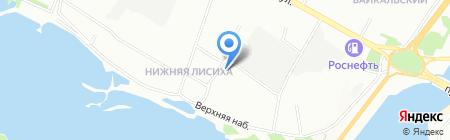 Афина на карте Иркутска