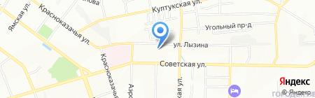 Автогаражный кооператив №102 на карте Иркутска