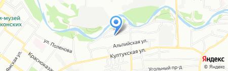 Производственная компания на карте Иркутска