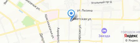 РАЙON хорошего настроения на карте Иркутска