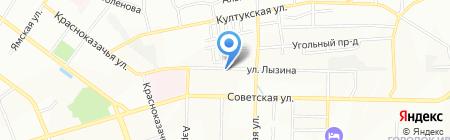 БАМБУСТА на карте Иркутска