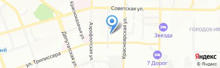 Estel на карте Иркутска