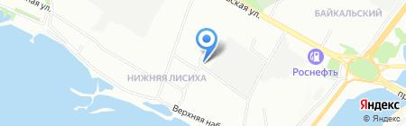 Куафюр на карте Иркутска