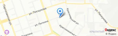 Иркутскэнергоаудит на карте Иркутска