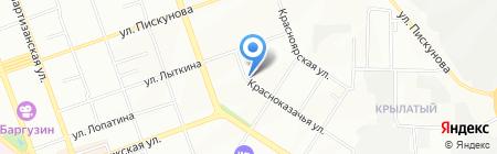 ВИРЭЙ-БАЙКАЛ на карте Иркутска