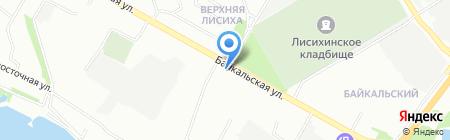 Рада на карте Иркутска
