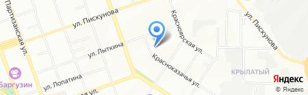 Детский сад №136 на карте Иркутска