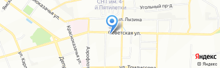 Вестфалика на карте Иркутска
