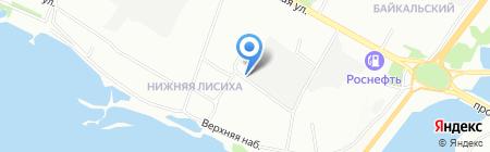 Автогаражный кооператив №2 на карте Иркутска